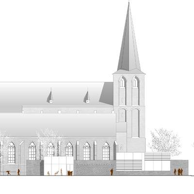 eva reber Architektur und Städtebau Wettbewerb Neubau Pfarrheim St. Maria Magdalena in Sonsbeck
