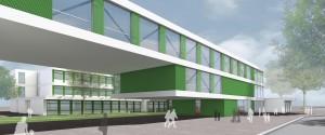 bathe+reber Architektur Dortmund Wettbewerb Umbau / Erweiterung des Schulzentrums in Verl
