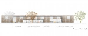 bathe+reber Architektur Dortmund Wettbewerb Neubau Kinderhaus Mühlgässle