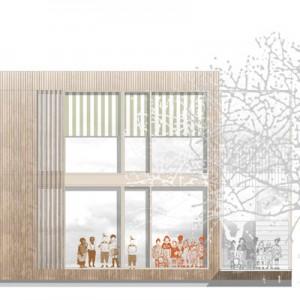 bathe+reber Architektur Dortmund Wettbewerb Neubau Kinderhaus Mühlgässle Mengen