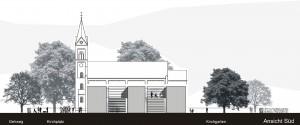 Architekturbüro bathe+rebe Dortmund Wettbewerb Gemeindezentrum Hagen