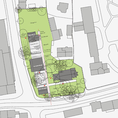 Architekturbüro bathe+reber Dortmund Wettbewerb Gemeindezentrum Brackel Dortmund