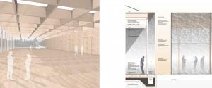 Architekturbüro bathe+rebe Dortmund Wettbewerb Kongressbereich Hallenbetriebe Neumünster