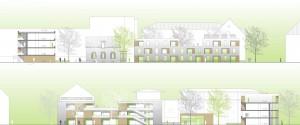 Architekturbüro bathe+reber Dortmund Wettbewerb Wohnbebauung Plettenberg