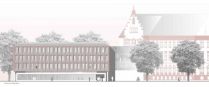 Architekturbüro bathe+reber Dortmund Wettbewerb Fassadensanierung Rathaus in Hamm