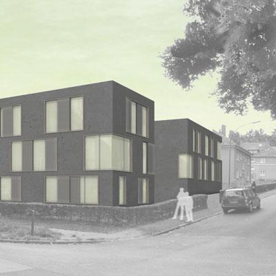Architekturbüro bathe+reber Dortmund Wettbewerb Wohnbebauung Witten
