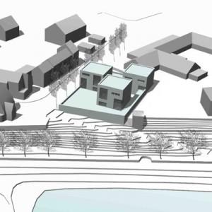 Architekturbüro bathe+reber Dortmund Wettbewerb Wohnen am Strom