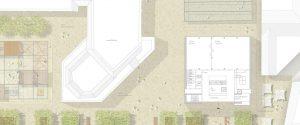 eva reber Architektur und Städtebau Neubau Bürgerhaus und die neuen Plätze am Rathaus in Menden